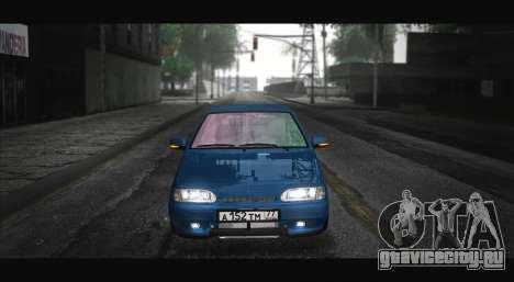 ВАЗ 2115 Синька для GTA San Andreas вид сзади слева