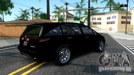 2010 Dinka Perennial Unmarked для GTA San Andreas вид справа