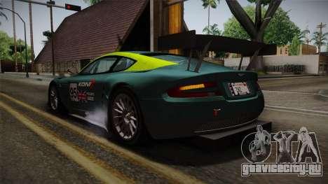 Aston Martin Racing DBRS9 GT3 2006 v1.0.6 YCH v2 для GTA San Andreas колёса