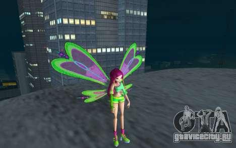 Fairy Roxy from Winx Club Rockstars для GTA San Andreas