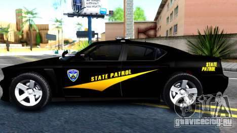 Bravado Buffalo State Patrol 2013 для GTA San Andreas вид слева