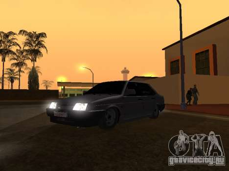 VAZ 21099 BPAN для GTA San Andreas вид слева