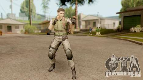 Resident Evil HD - Chris Redfield S.T.A.R.S для GTA San Andreas
