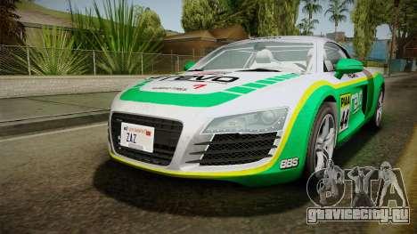 Audi R8 Coupe 4.2 FSI quattro EU-Spec 2008 для GTA San Andreas двигатель