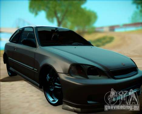 Honda Civic Hatchback для GTA San Andreas