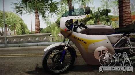 Honda Dream (RC142) 1988 для GTA San Andreas вид сзади слева