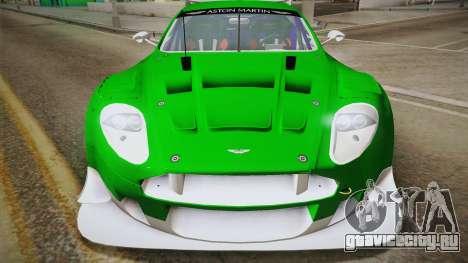 Aston Martin Racing DBR9 2005 v2.0.1 YCH Dirt для GTA San Andreas вид справа