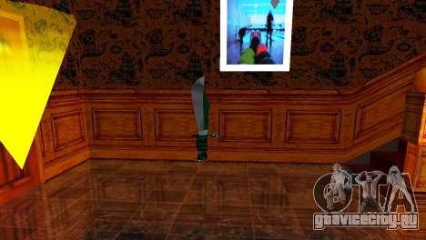 Crocodile Dundee Knife OUTBACK для GTA San Andreas третий скриншот