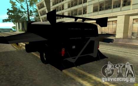 UAZ BUXANKA для GTA San Andreas вид сзади слева