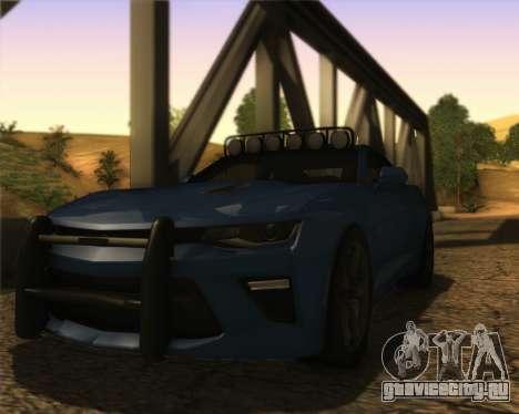 Chevrolet Camaro SS Xtreme для GTA San Andreas