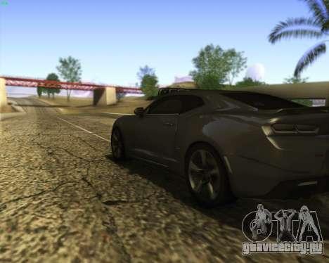 Chevrolet Camaro SS Xtreme для GTA San Andreas вид сбоку
