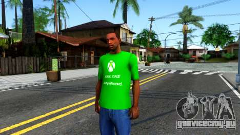 T-Shirt Xbox1 для GTA San Andreas