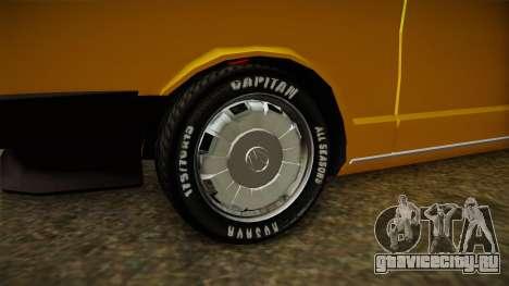 Volkswagen Passat 1981 для GTA San Andreas вид сзади