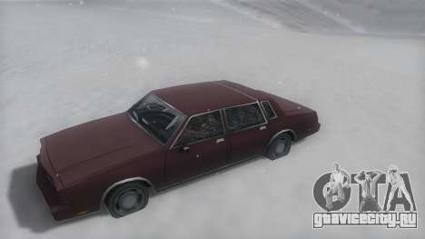 Tahoma Winter IVF для GTA San Andreas вид справа