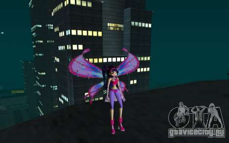 Musa Believix from Winx Club Rockstars для GTA San Andreas