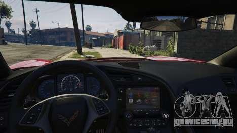 2014 Chevrolet Corvette C7 Stingray для GTA 5