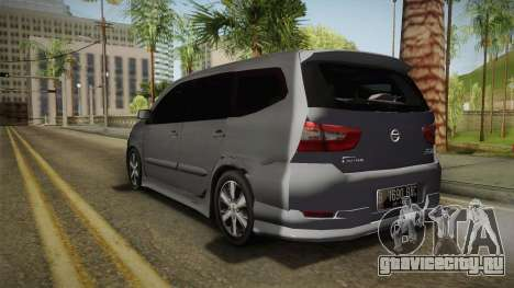 Nissan Grand Livina Highway Star для GTA San Andreas вид слева