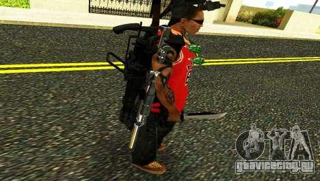 Crocodile Dundee Knife OUTBACK для GTA San Andreas четвёртый скриншот