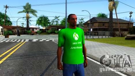 T-Shirt Xbox1 для GTA San Andreas второй скриншот