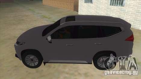 2016 Mitsubishi Montero Sport для GTA San Andreas вид слева