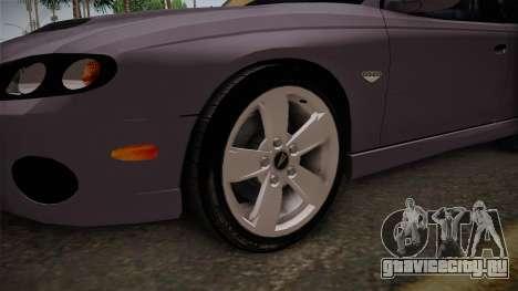 Pontiac GTO Hot Wheels NASCAR PJ для GTA San Andreas вид сзади