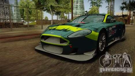 Aston Martin Racing DBR9 2005 v2.0.1 Dirt для GTA San Andreas колёса