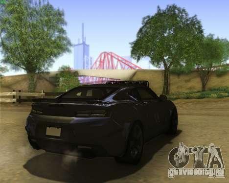Chevrolet Camaro SS Xtreme для GTA San Andreas вид справа
