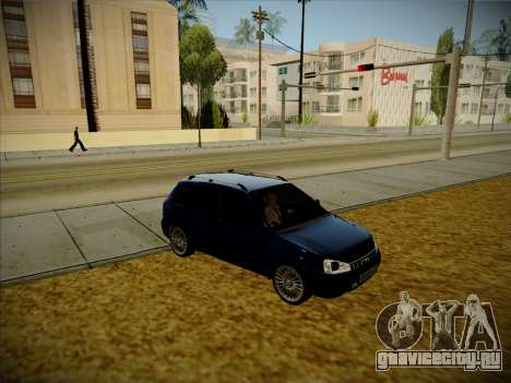 ВАЗ 1117 Калина Karelian Edition для GTA San Andreas вид справа