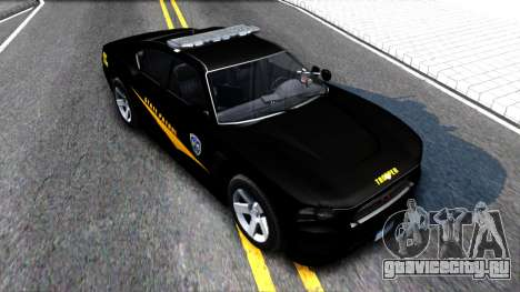 Bravado Buffalo State Patrol 2013 для GTA San Andreas вид справа