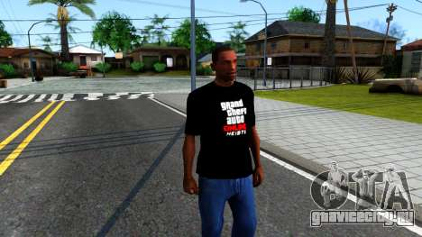 GTA Online T-Shirt для GTA San Andreas второй скриншот