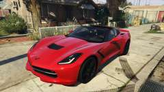 2014 Chevrolet Corvette C7 Stingray для GTA 5