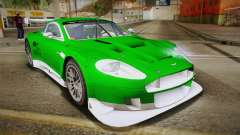 Aston Martin Racing DBR9 2005 v2.0.1 YCH Dirt для GTA San Andreas