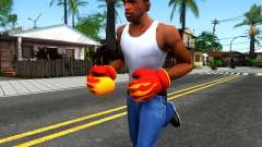 Red With Flames Boxing Gloves Team Fortress 2 для GTA San Andreas