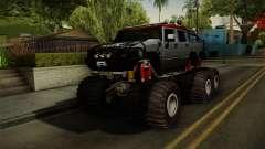 Hummer H2 6x6 Monster