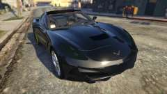 Drag Chevrolet Corvette C7 для GTA 5