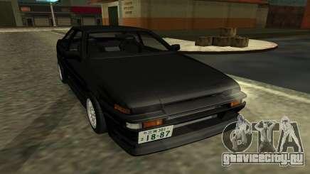 Toyota Corolla Levin (AE86) для GTA San Andreas
