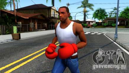 Red Boxing Gloves Team Fortress 2 для GTA San Andreas
