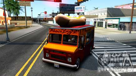 New HotDog Van для GTA San Andreas