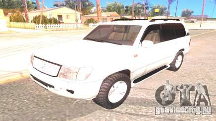 Toyota Land Cruiser 100 внедорожник для GTA San Andreas