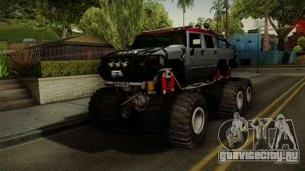 Hummer H2 6x6 Monster для GTA San Andreas