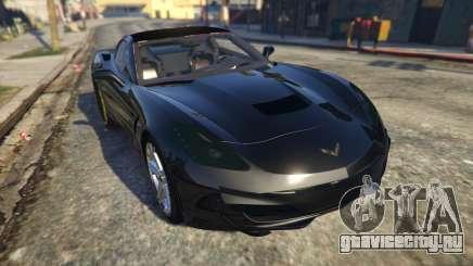 Drag Chevrolet Corvette C7 для GTA 5