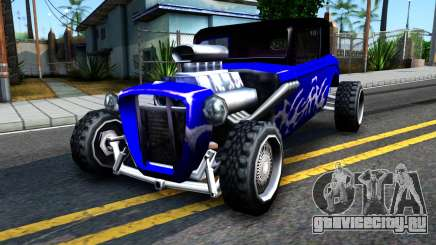 Duke Blue Hotknife Race Car для GTA San Andreas