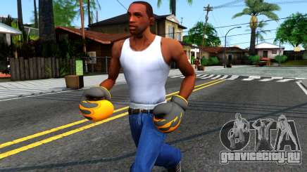 Black With Flames Boxing Gloves Team Fortress 2 для GTA San Andreas