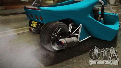GTA 5 BF Raptor IVF для GTA San Andreas вид сбоку
