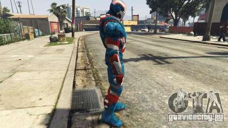 Iron Man Patriot для GTA 5 второй скриншот