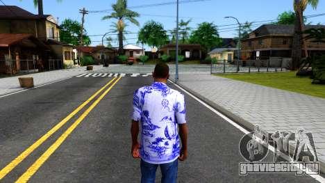 New Hawaii Shirt для GTA San Andreas третий скриншот