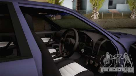 Nissan Skyline ER34 Rocket Bunny для GTA San Andreas вид сзади