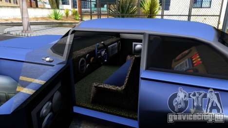 Alien Voodoo для GTA San Andreas вид изнутри
