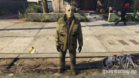 Jason Voorhes Ped model v3 для GTA 5