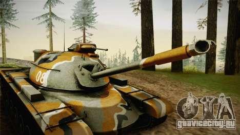 M48A3 для GTA San Andreas вид сзади
